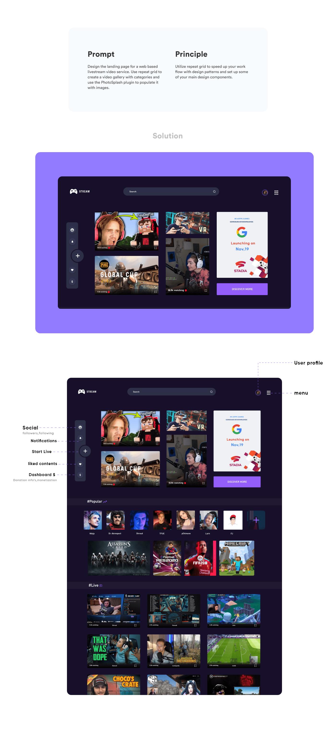 adobe Creative Challenge Adobe XD xd challenge UI/UX fajis mohd