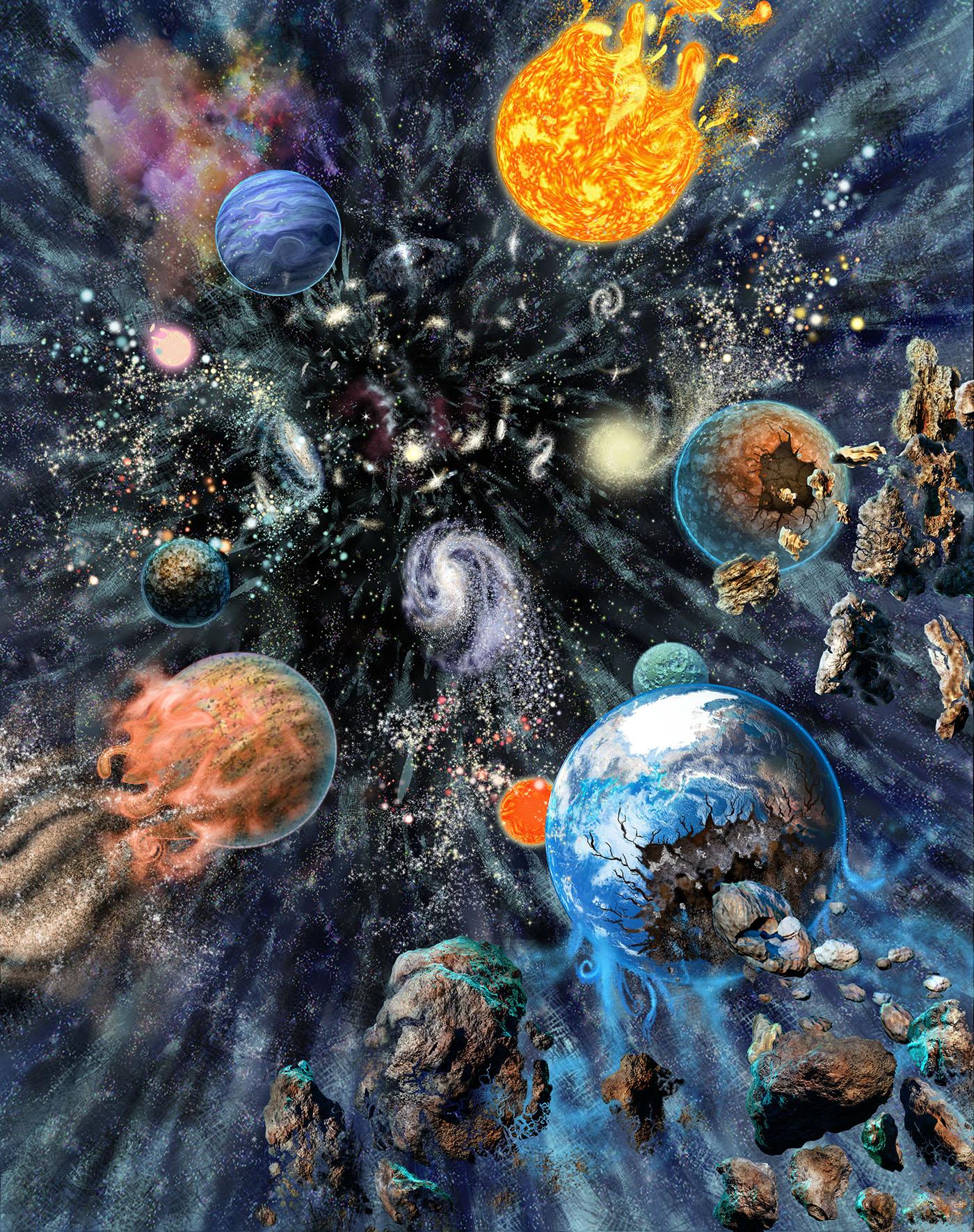 Wonders of Space & Cosmology on Behance