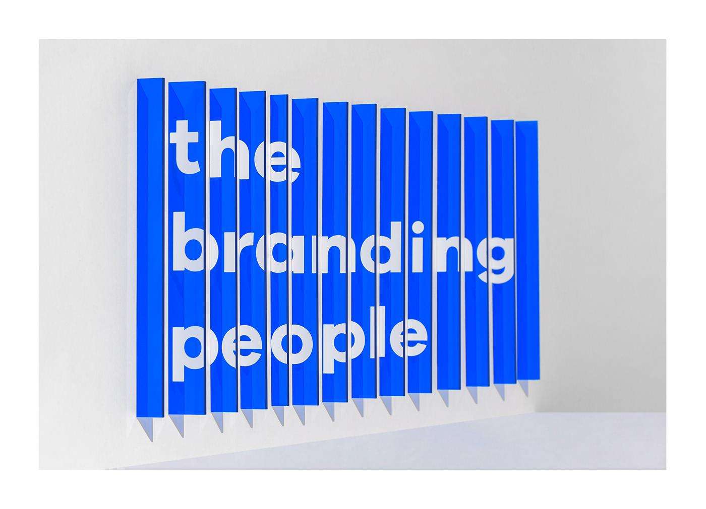 design brand graphic 3D Render people hands poster