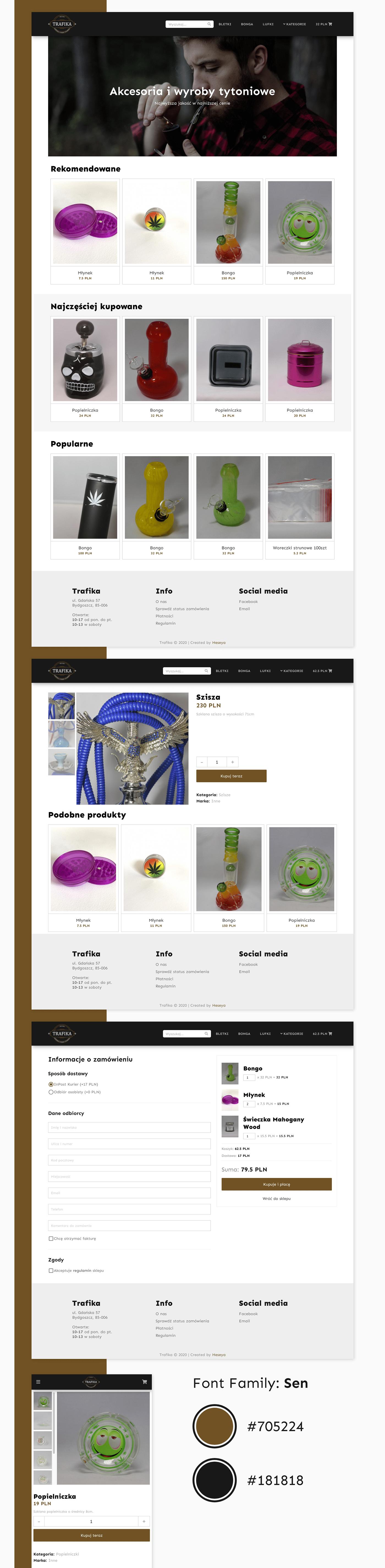 design shop store Tráfika