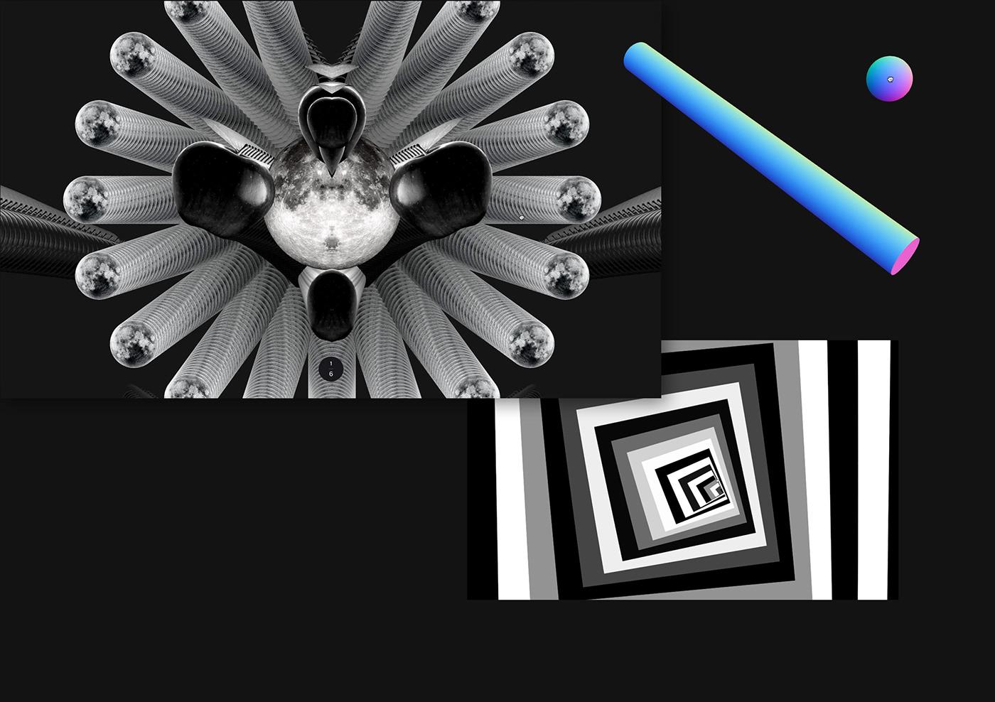 portfolio Website resn UI ux toys digital interactive bold Interface
