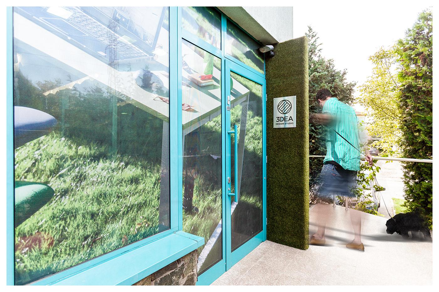 interior design  furniture design  studio showroom design Office creative