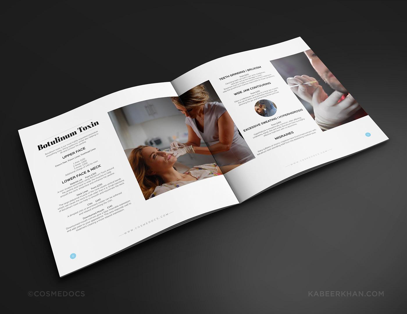 doctor brochure design