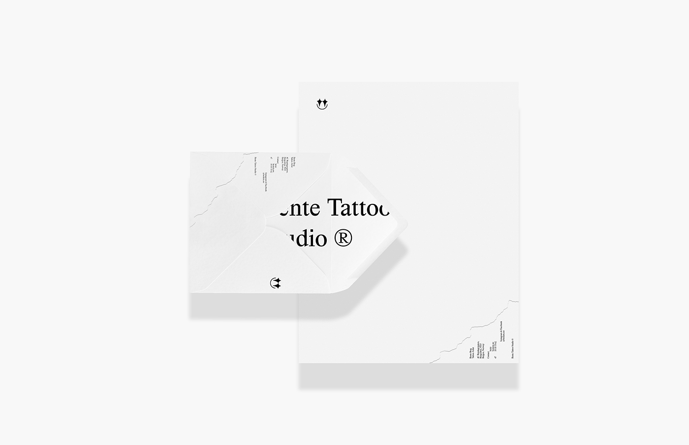 Brand Identity for Bente Tattoo Studio in Norway