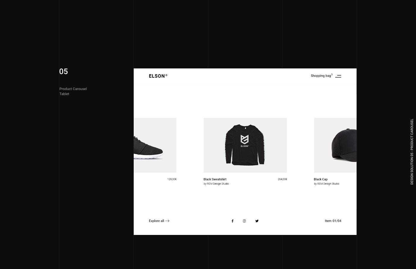 clean clothes Ecommerce furniture shoes shop store UI ux Webdesign