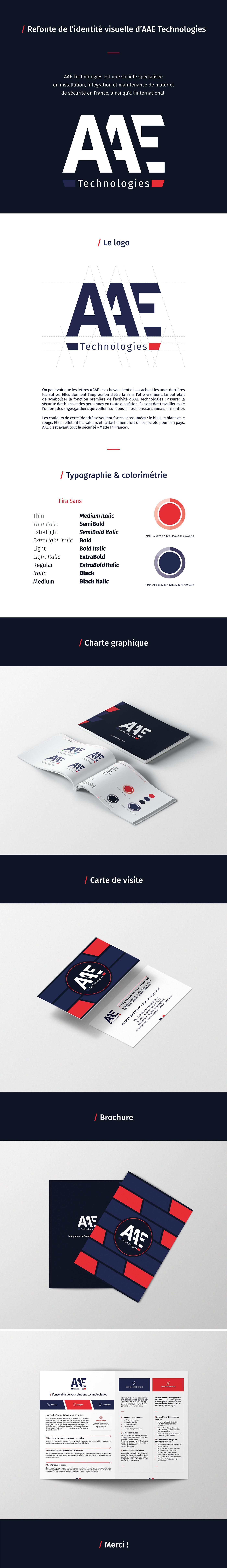 logo identité visuelle direction artistique edition print charte graphique graphisme graphiste freelance AAE Technologies marque