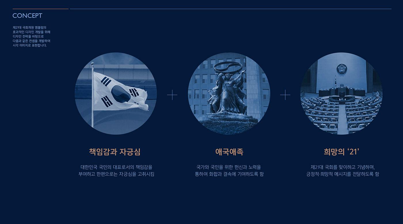 emblem emblem design Emblem Design Guideline KoreaNationalAssembly