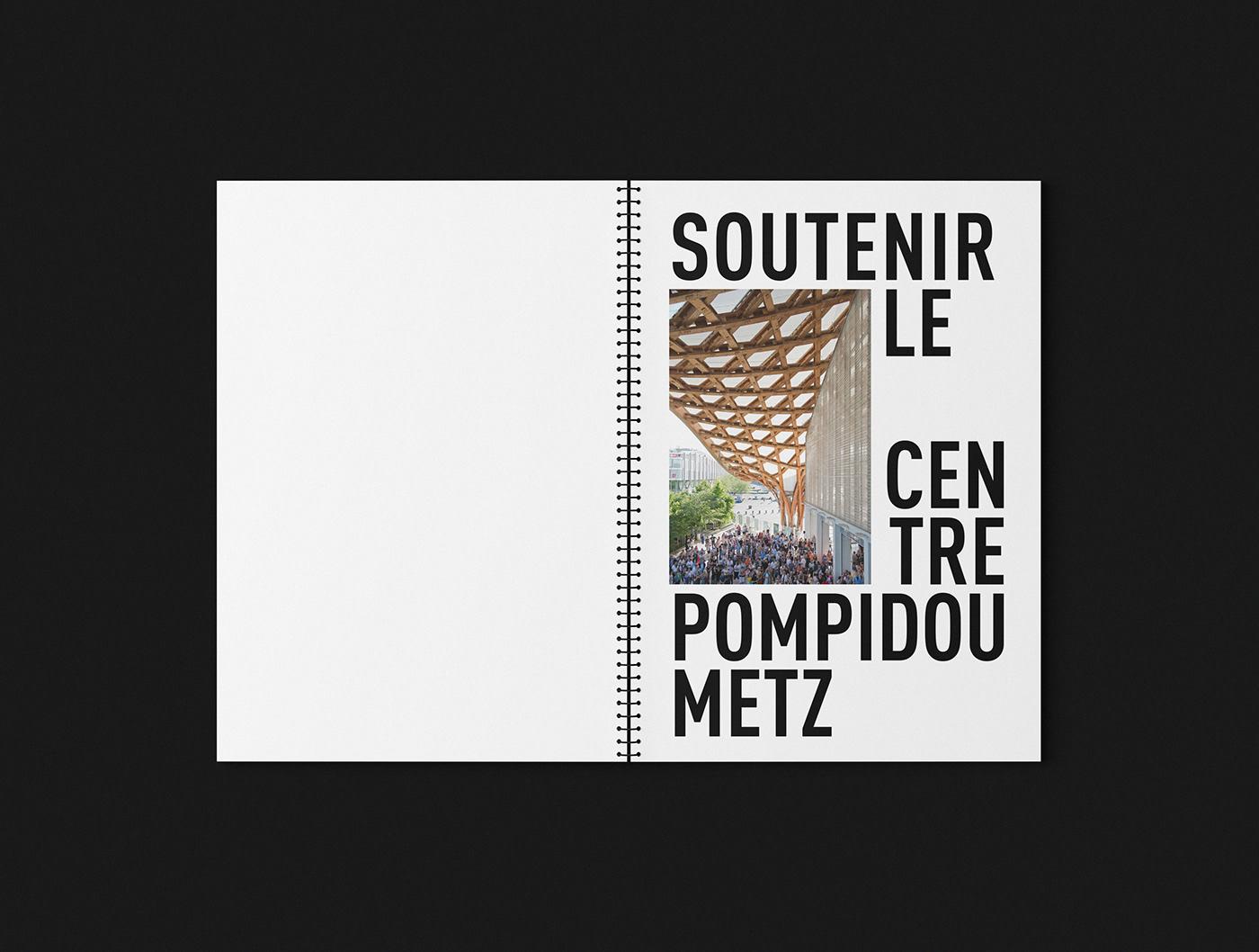 brochure design editorial dire musée wireo