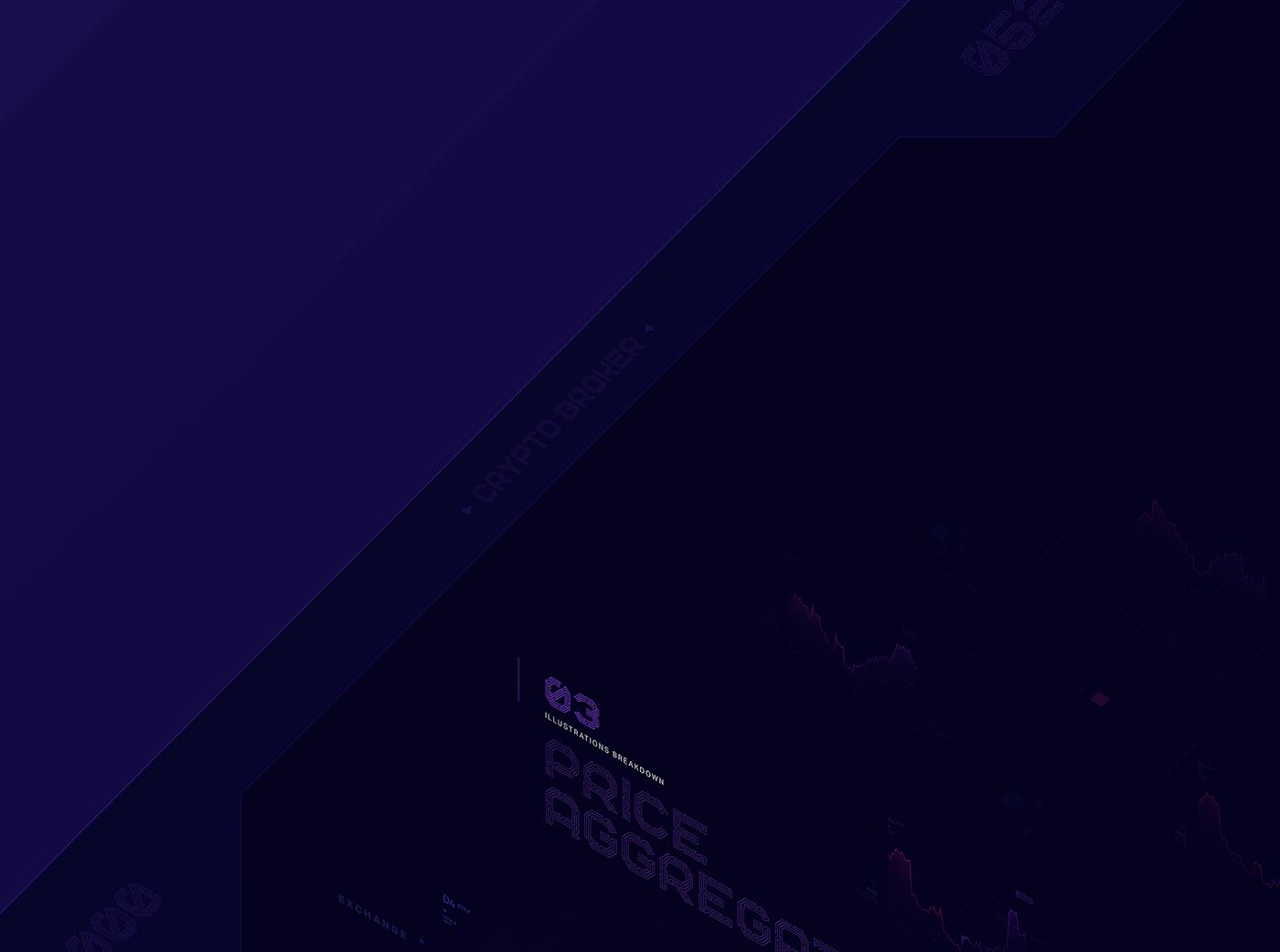 UI ux icon design  crypto blockchain Ico tokens Web Design  ILLUSTRATION  WALLET