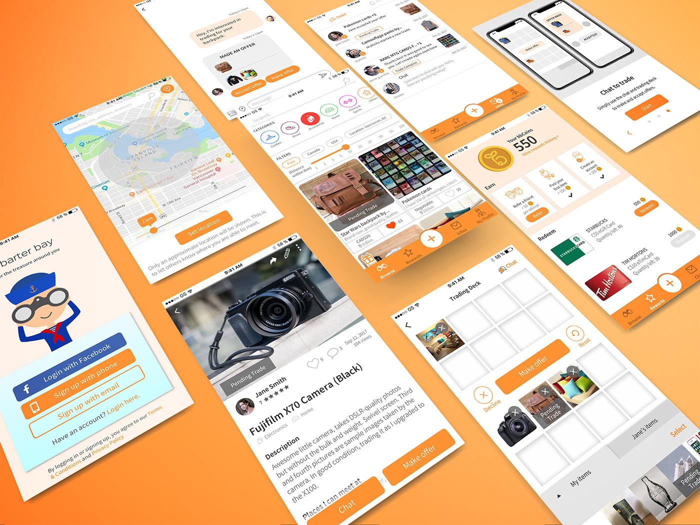 app Web design development brand ux UI logo Startup vancouver