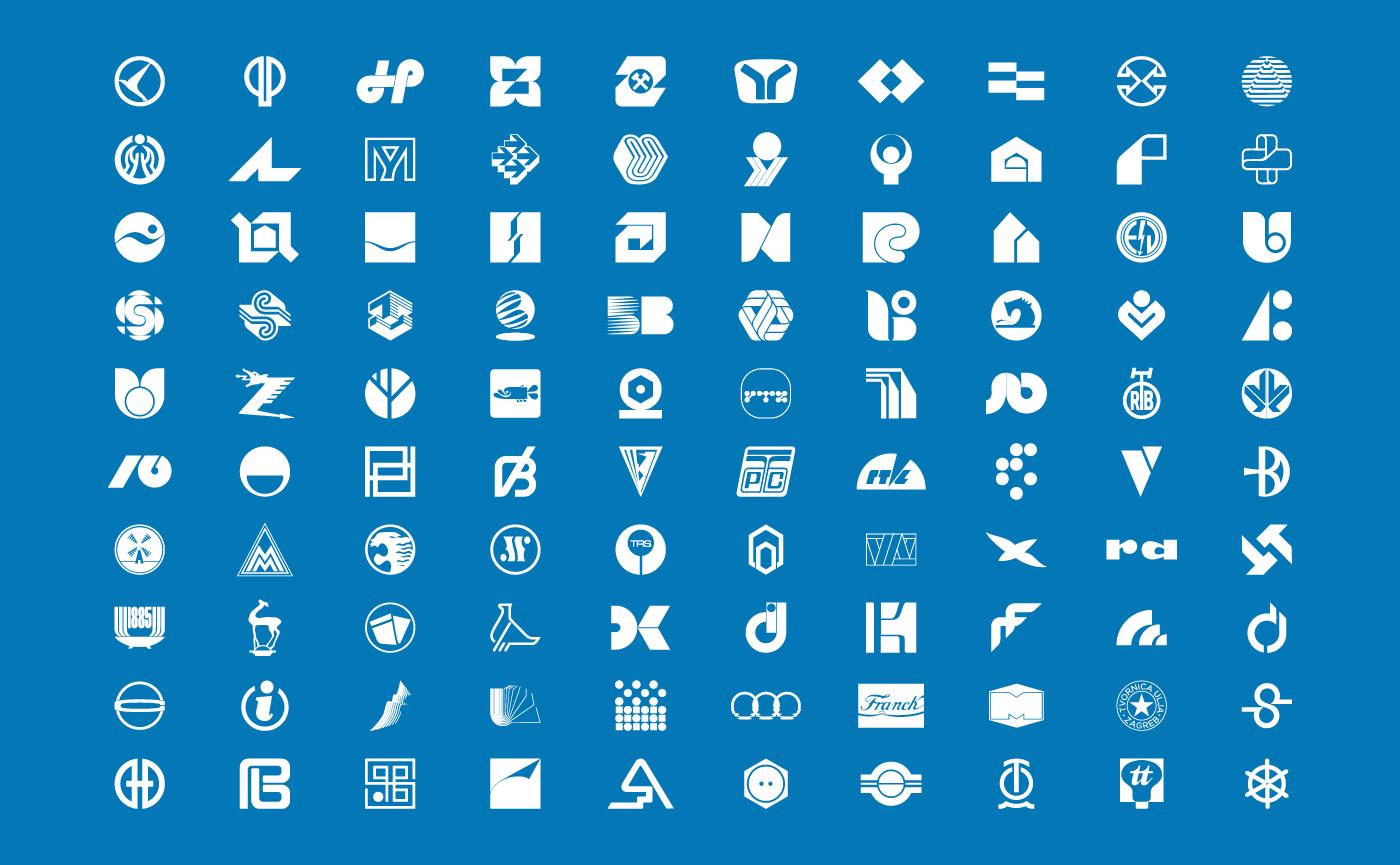 branding  logo logo archive Logo Design logo history logoarchive logofolio logopedia research project yugoslavia