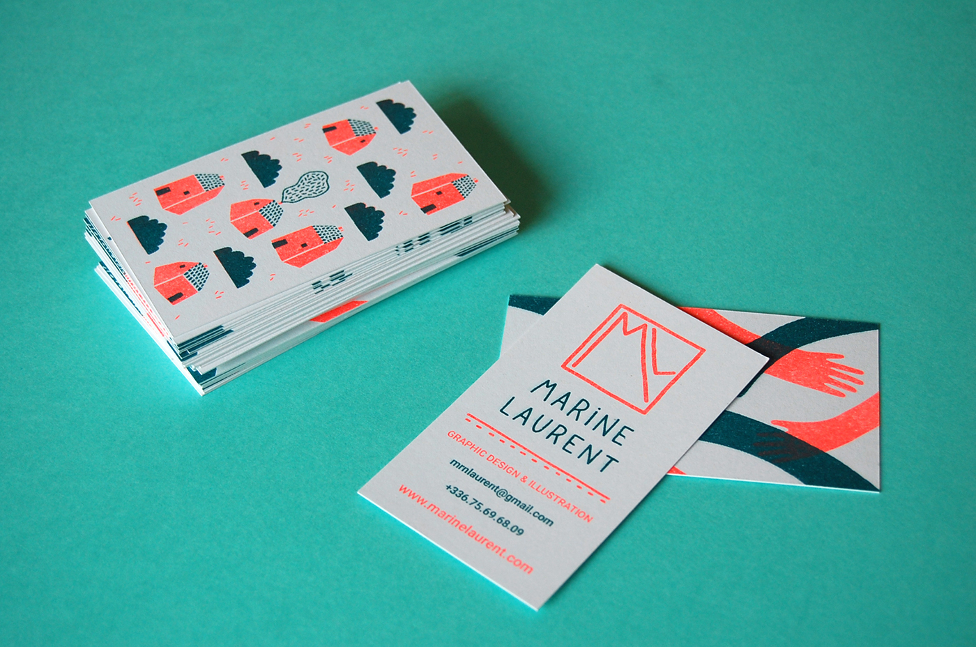 Riso business cards on behance personal business card colourmoves