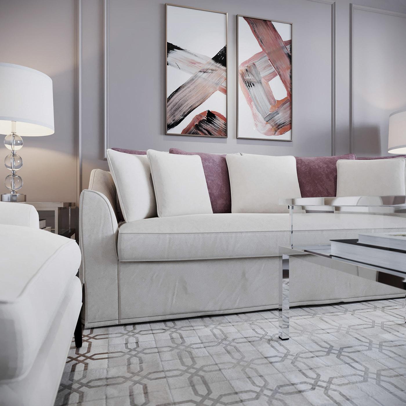 Interior design architecture furniture residential Classic