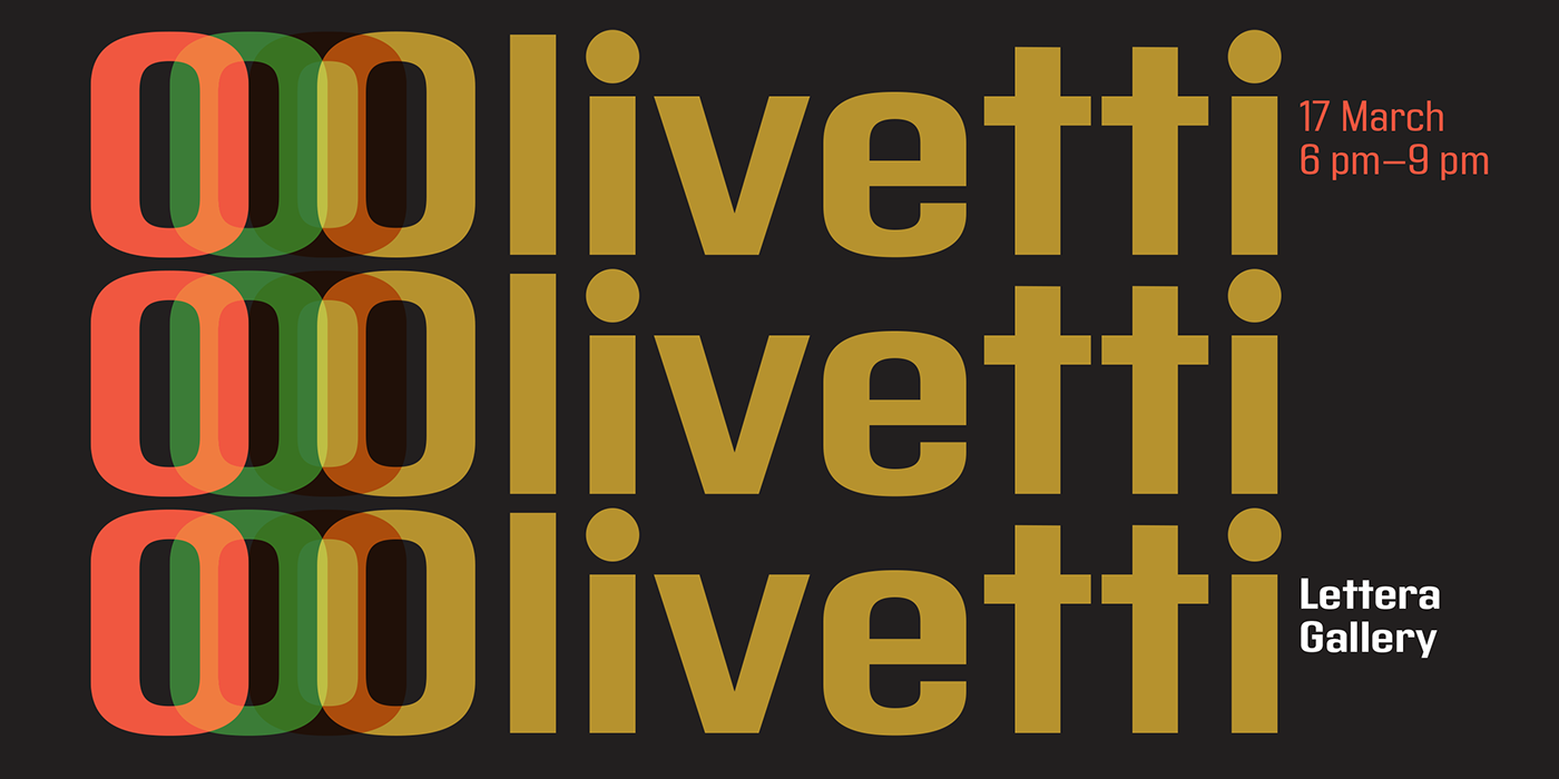 typography   modernism Olivetti Typeface sudtipos industrial font design geometric