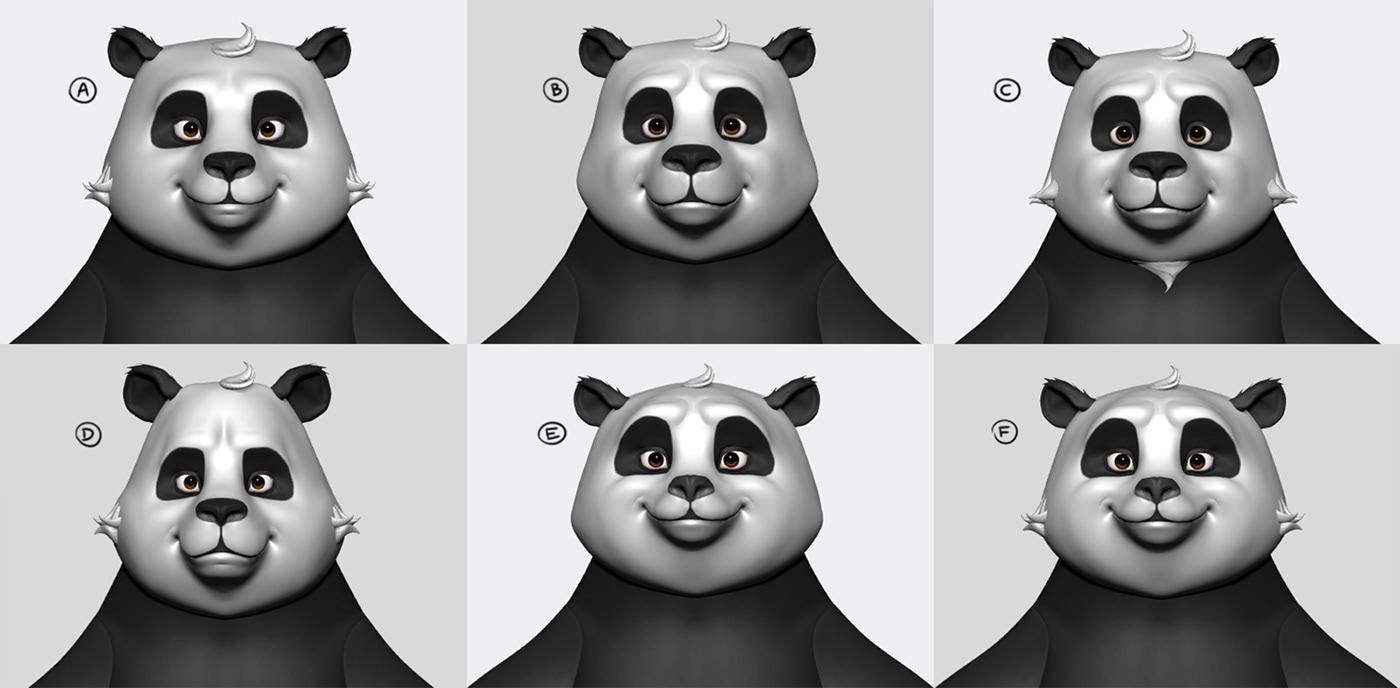 Miagui,Karsten,animation ,motion,3D,CGI,Panda ,Character,reel