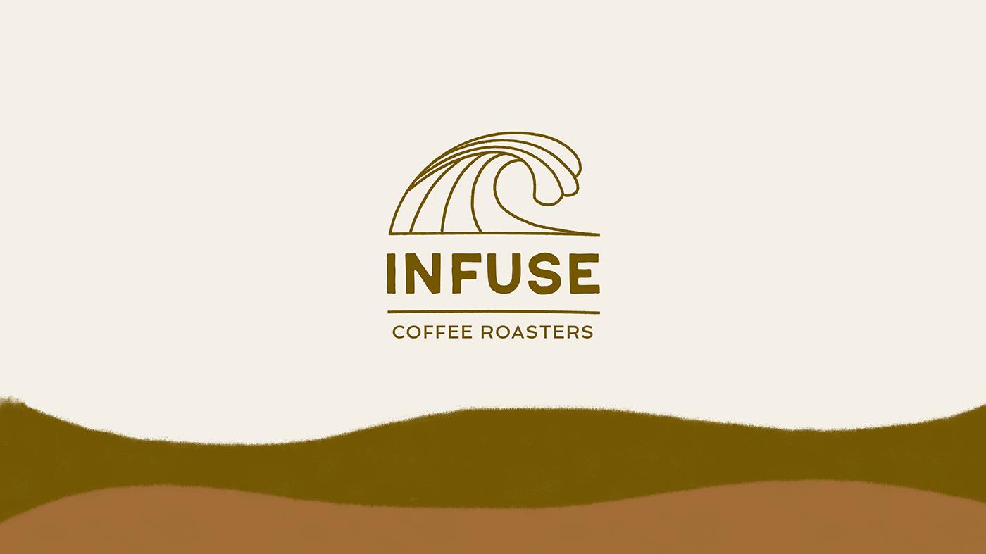 brand guide branding  cafe Coffee COVid design logo Rebrand