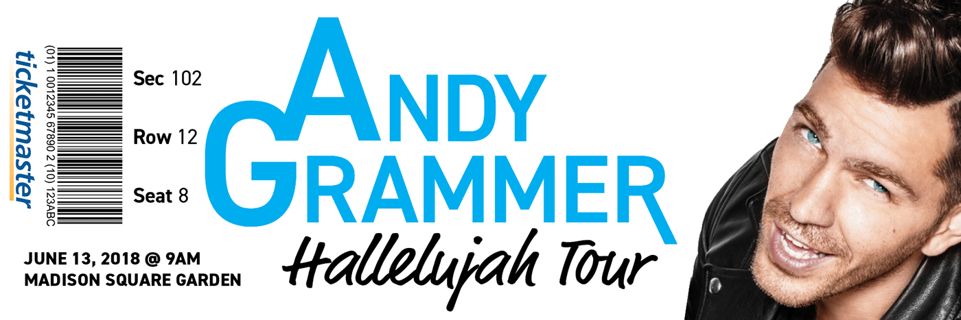 Andy Grammer Performance Package on Behance