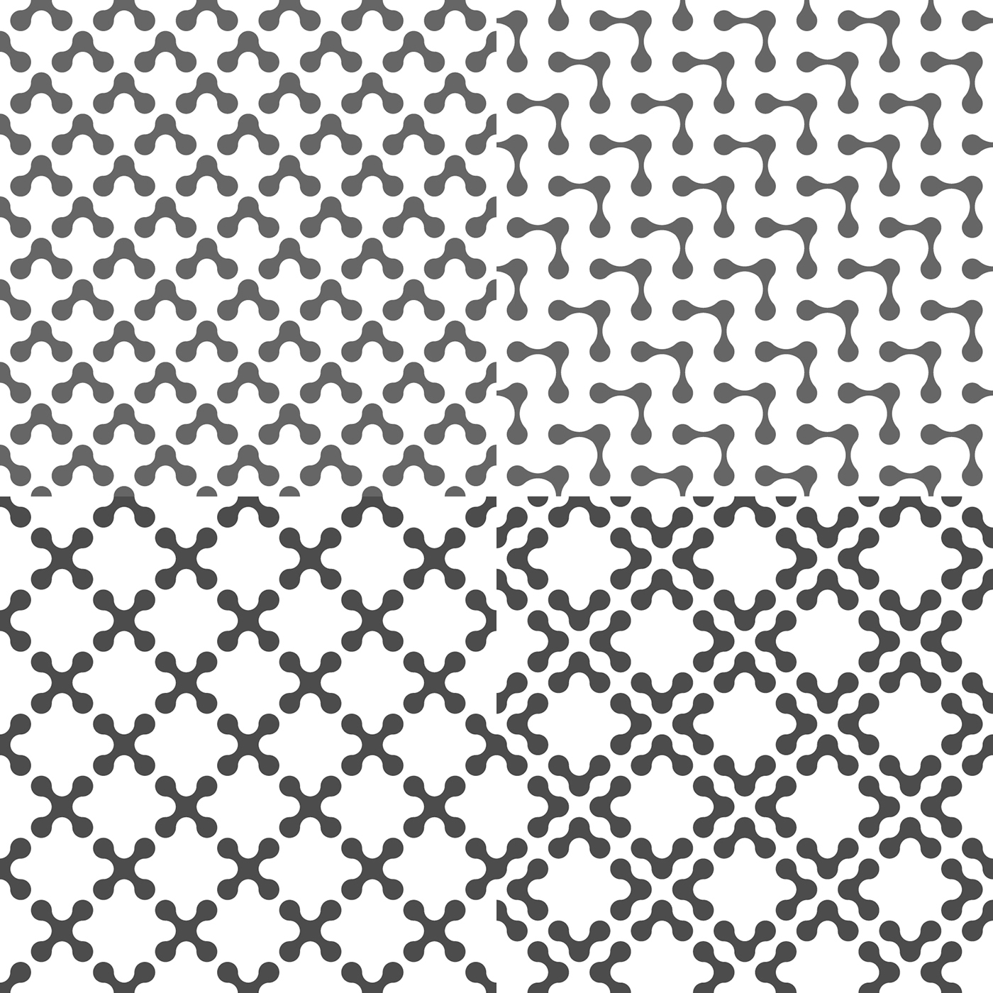 Drops Patterns Cool Decorating Ideas