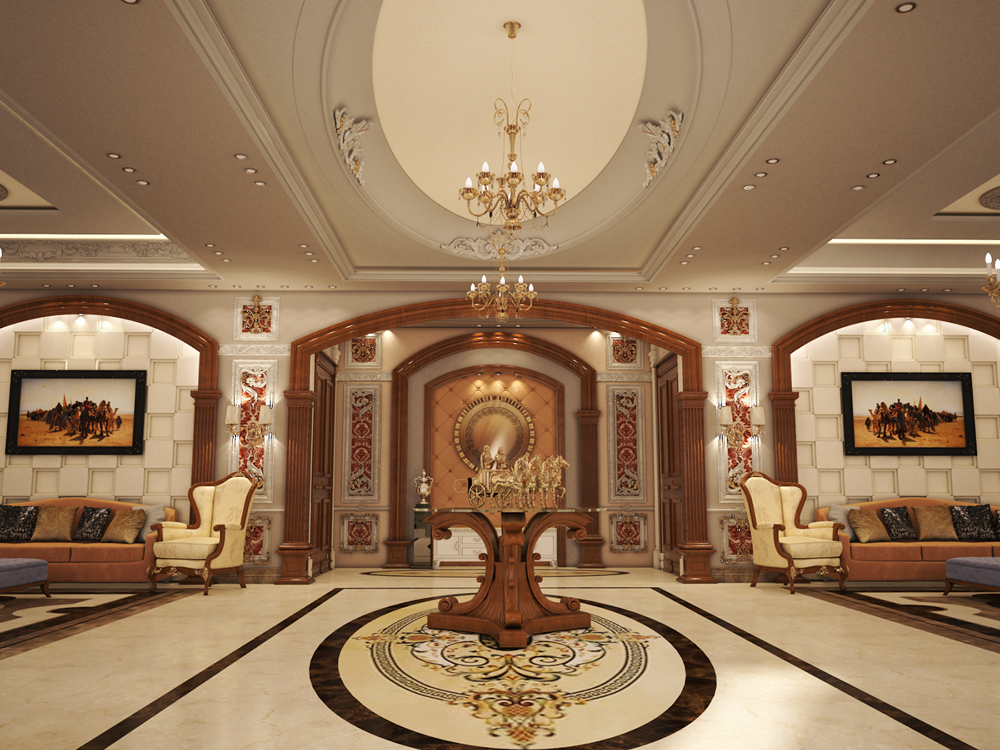 Palace Abdulaziz In Saudi Arabia On Behance