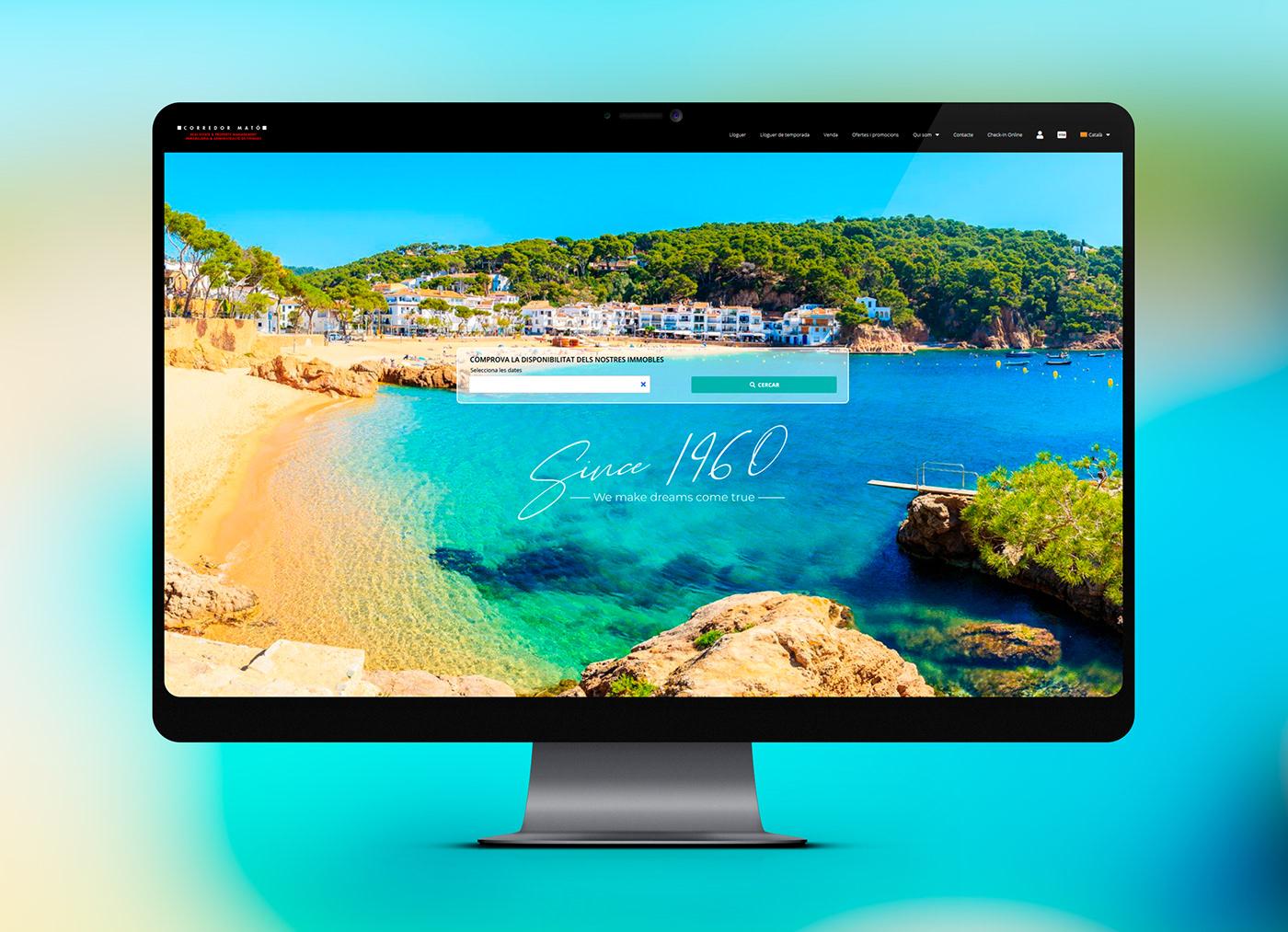 real estate Web Web Design  wordpress
