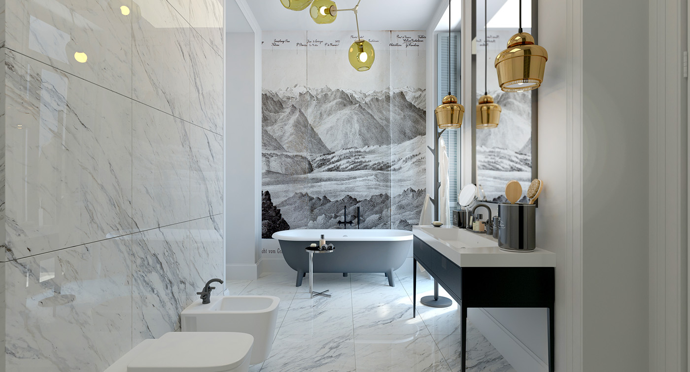 contemporary bathroom images str on behance 12446