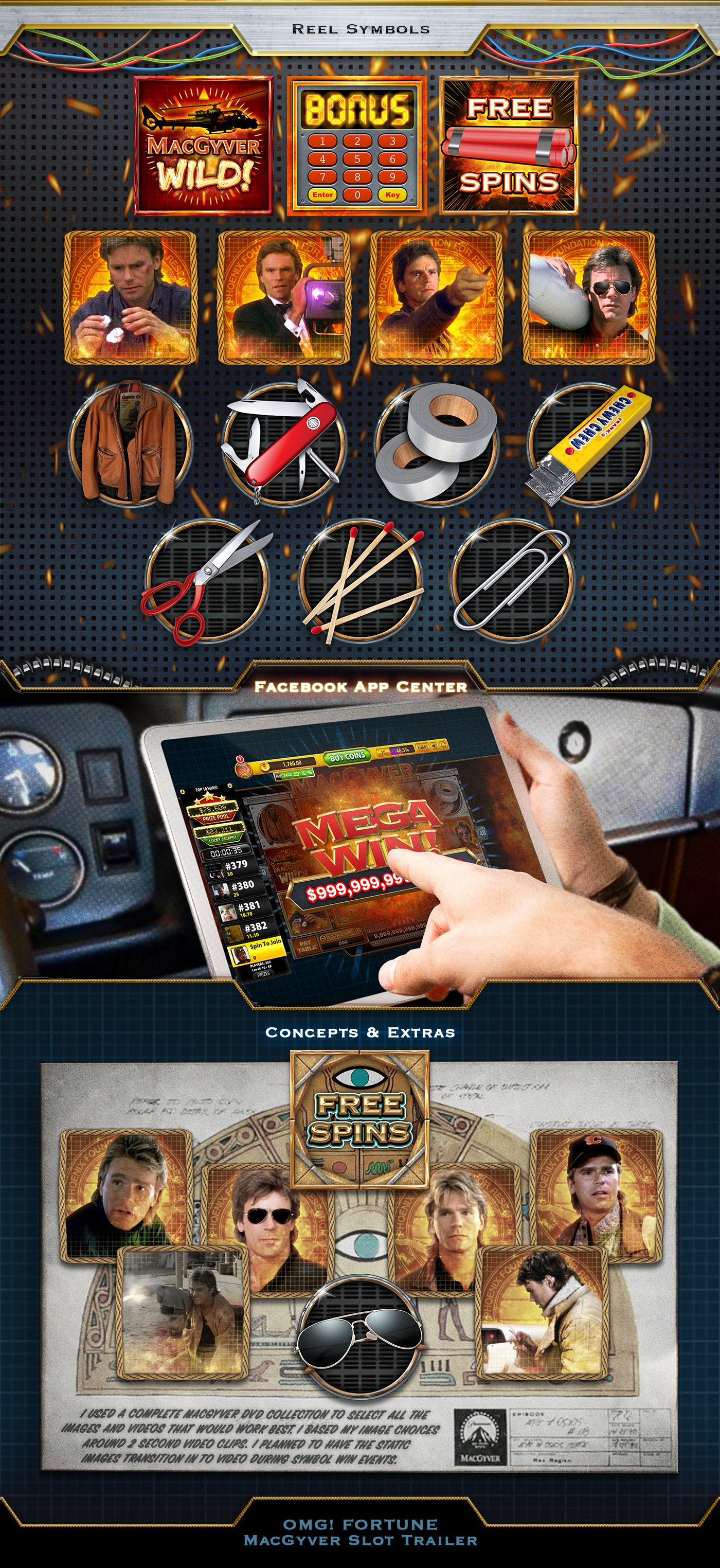 casino frank rapoza game Game Art ILLUSTRATION  MacGyver slot slot game social television