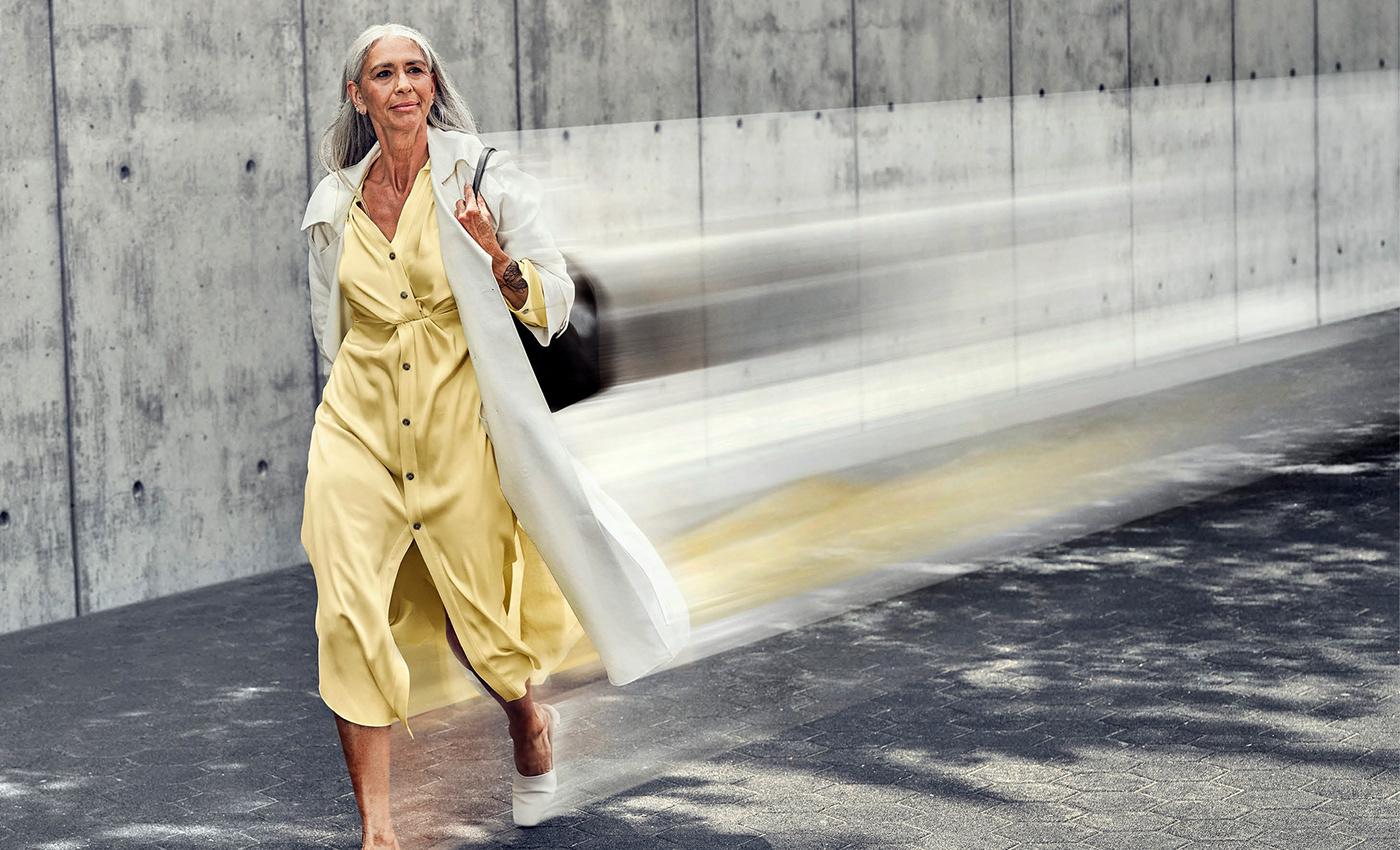 Advertising  Fashion  motion motion blur movement print Style train Travel VIA Rail