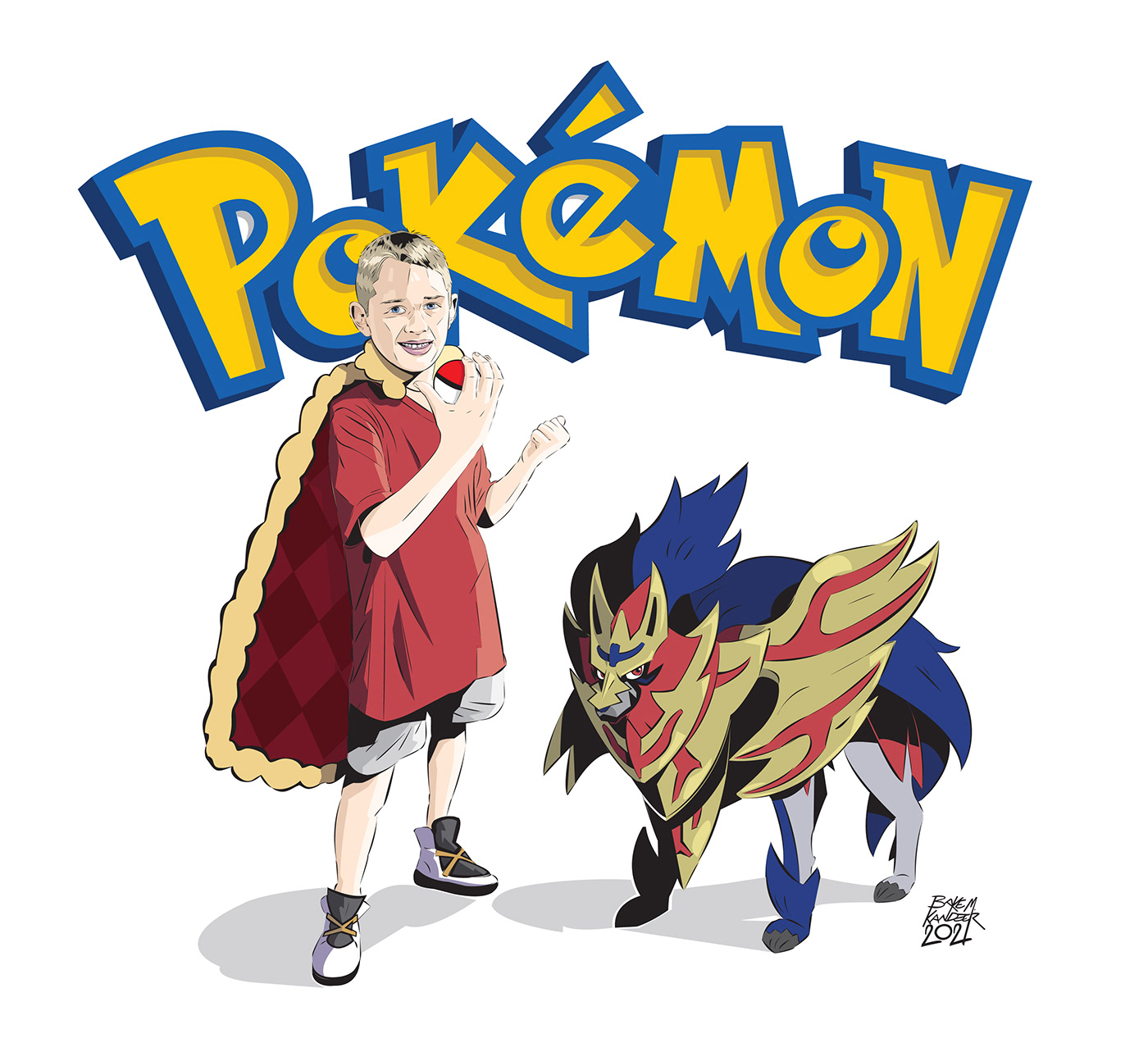 characters commission ILLUSTRATION  Pokemon pokemon go