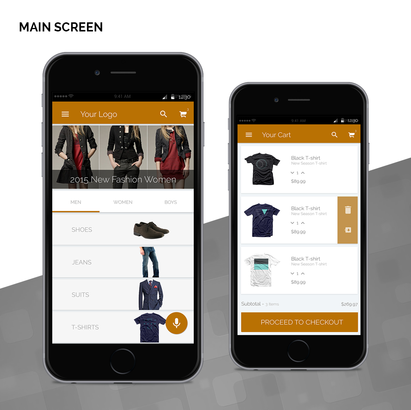E commerce mobile ui ux on behance for E commerce mobili