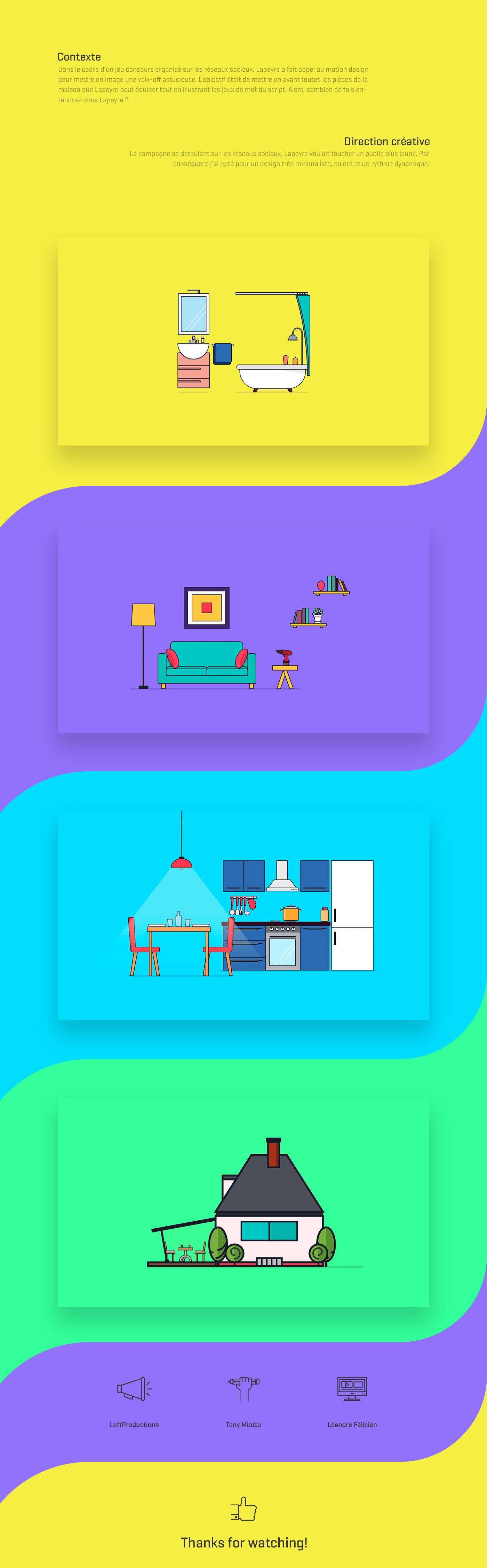 motion graphics animation  publicité motion design