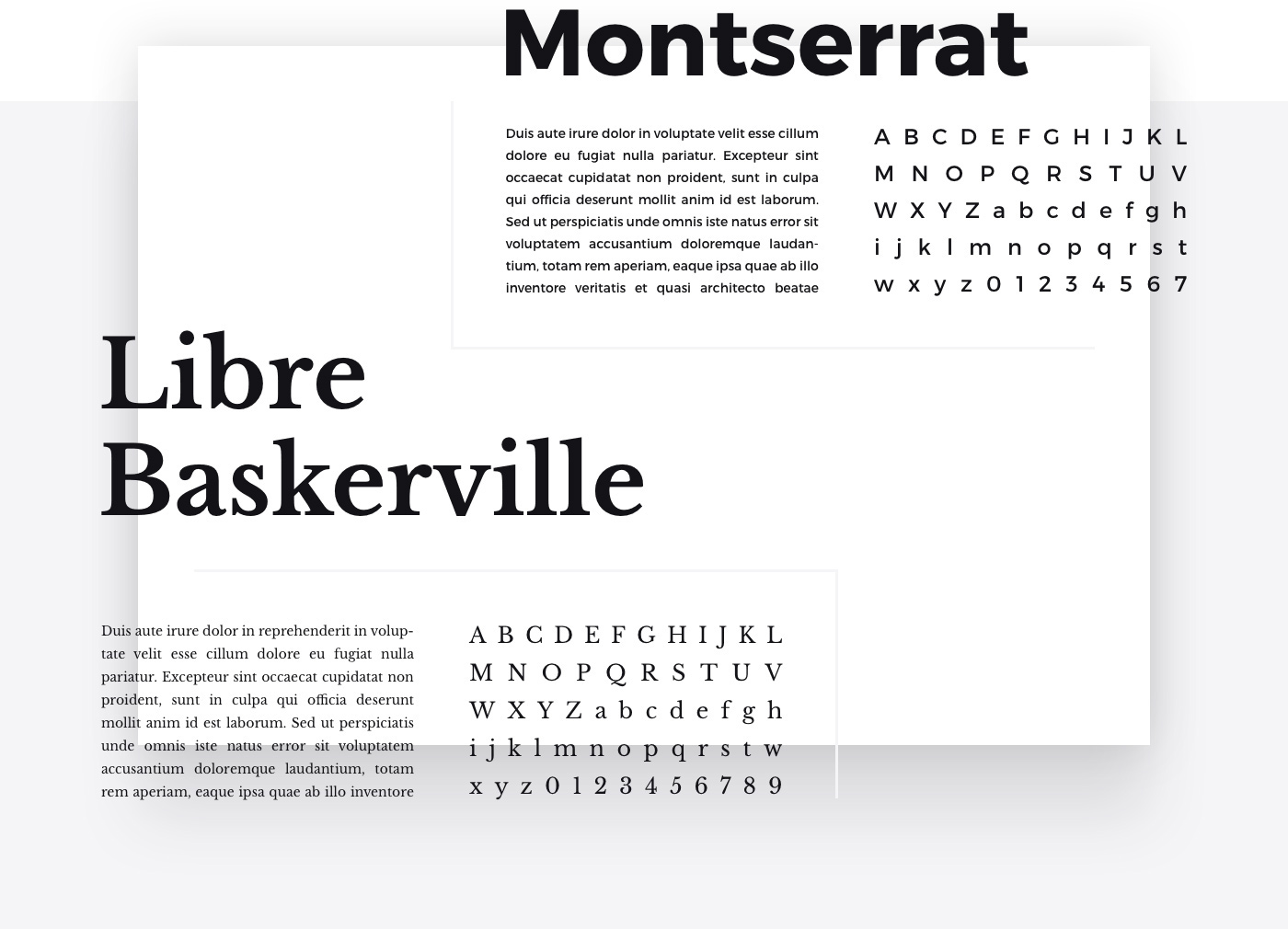UI kit Web Website ux minimalist psd Interface modern White