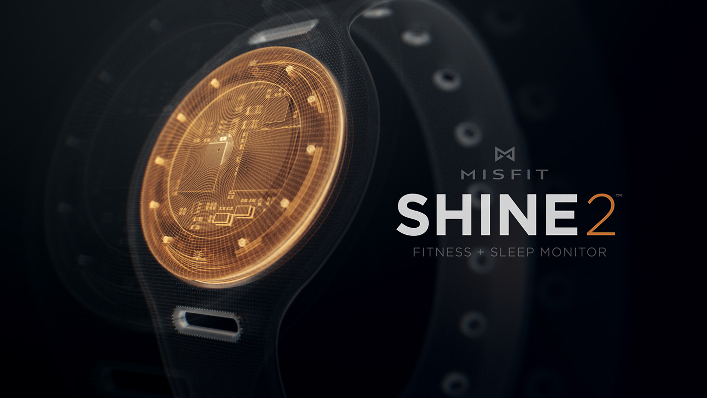 misfit shine promo styleframes graphics photoshop 3D