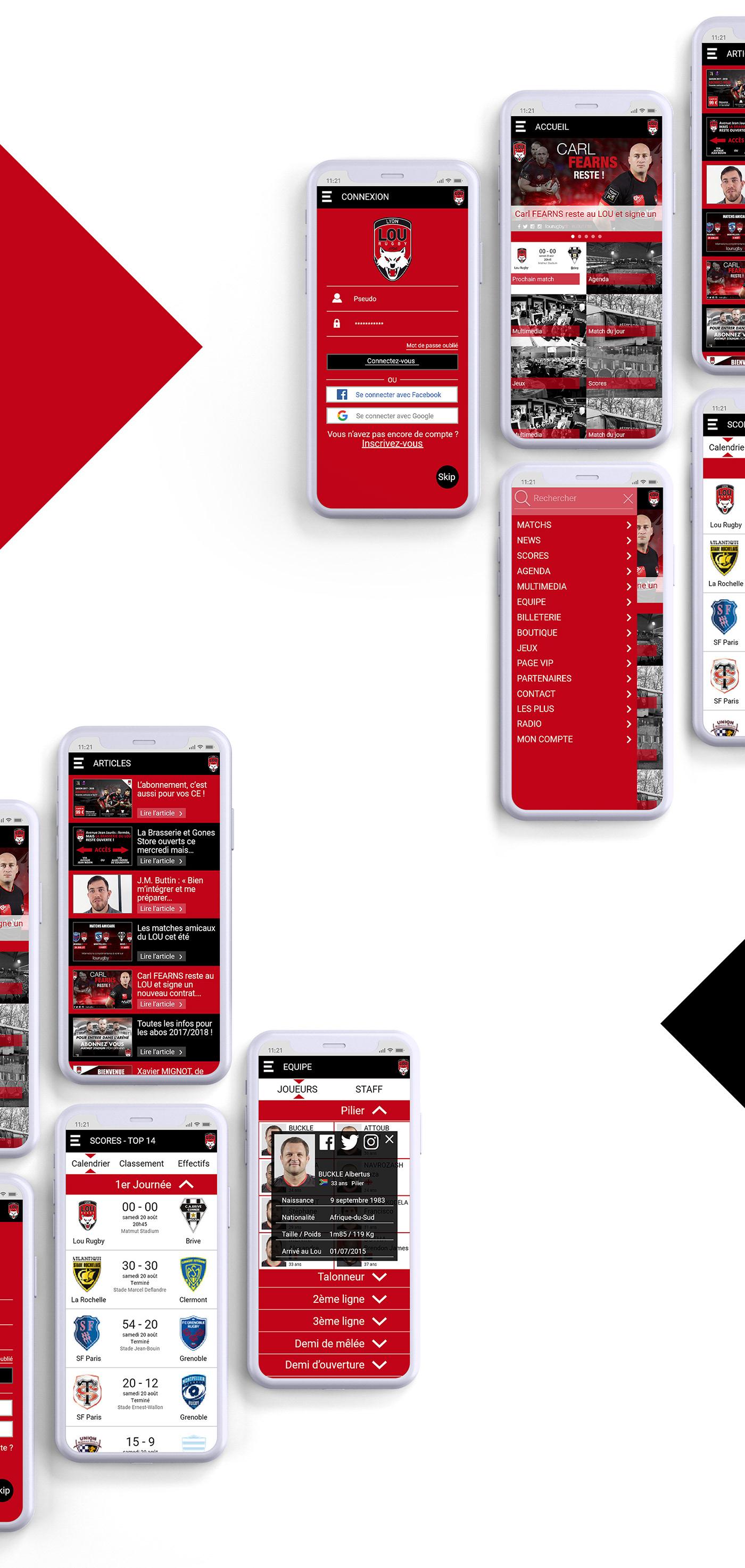 Adobe XD UX UI ux UI application Interface app Mobile app smartphone iphone