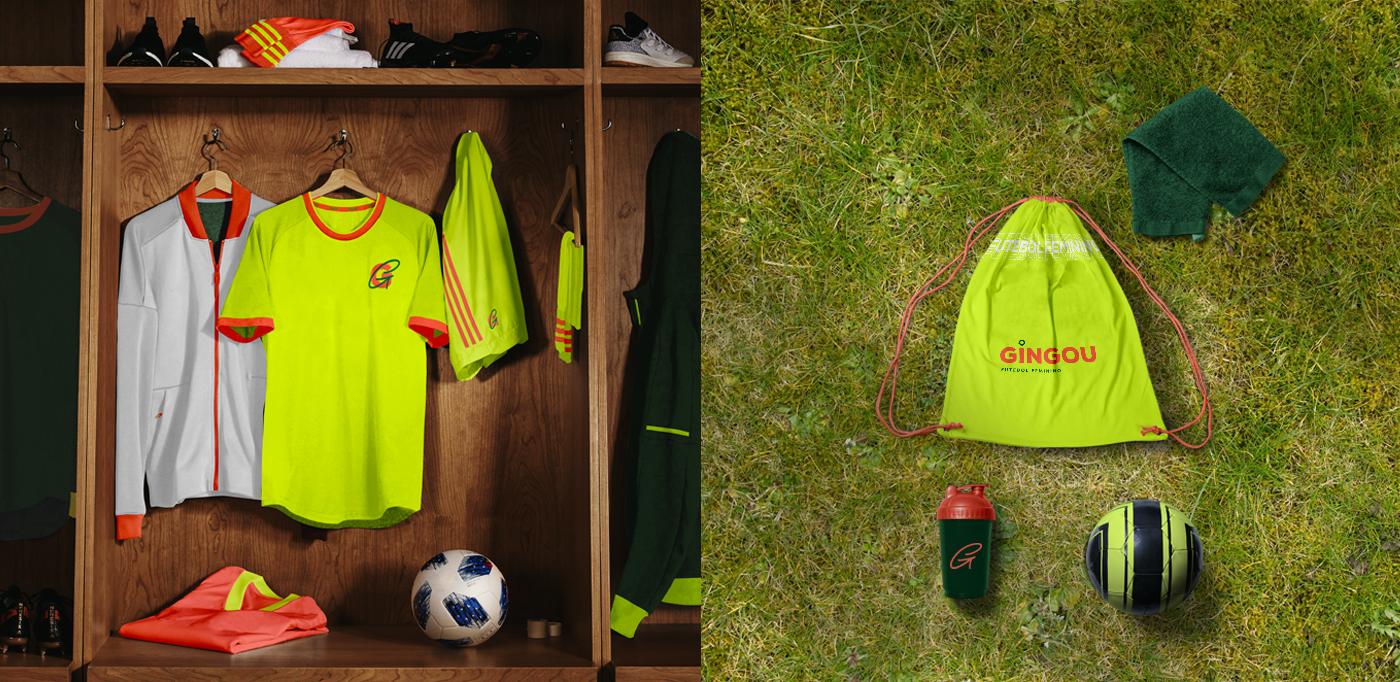 soccer female soccer sports brand woman football movement feminism uniform branding