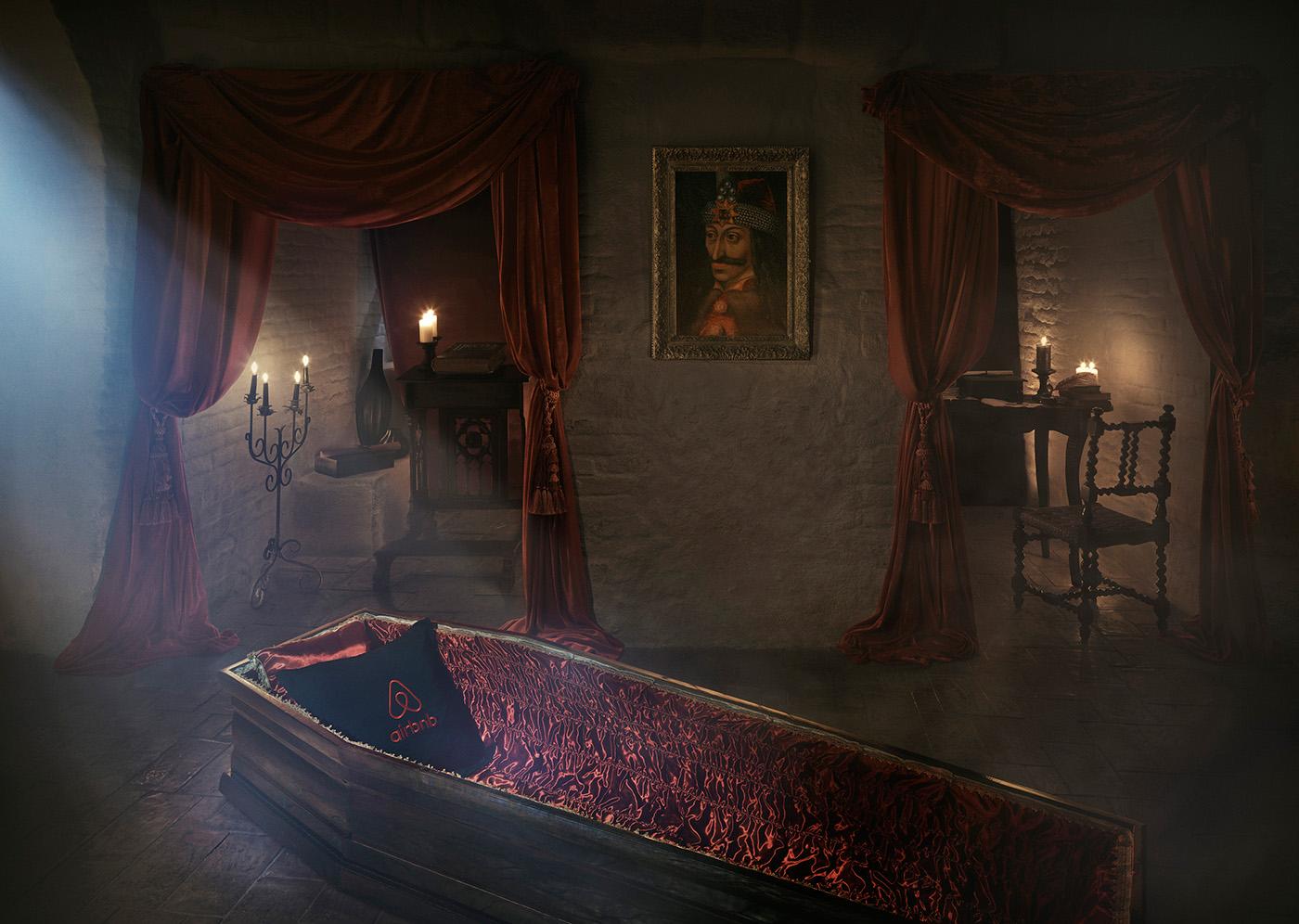 Картинка дома графа дракулы