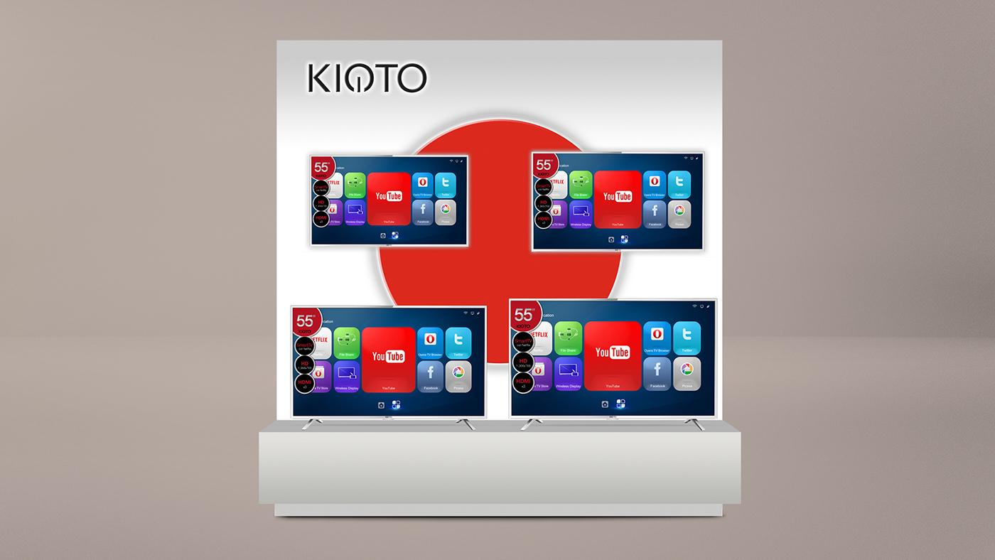 kioto japan asian clean minimal red White home Línea Blanca electrohogar