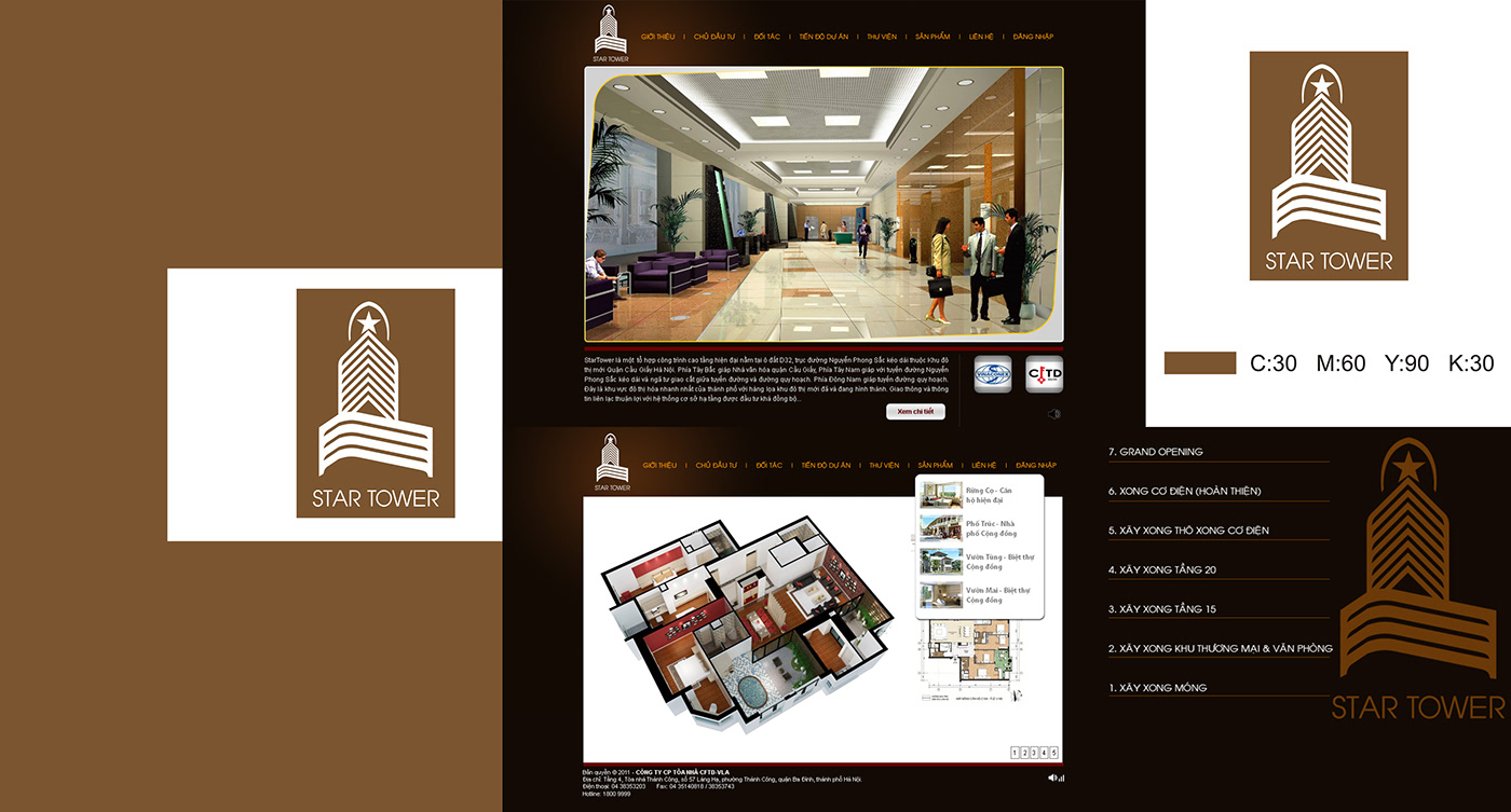 brand identity design brand design logo graphic design  pham son designer