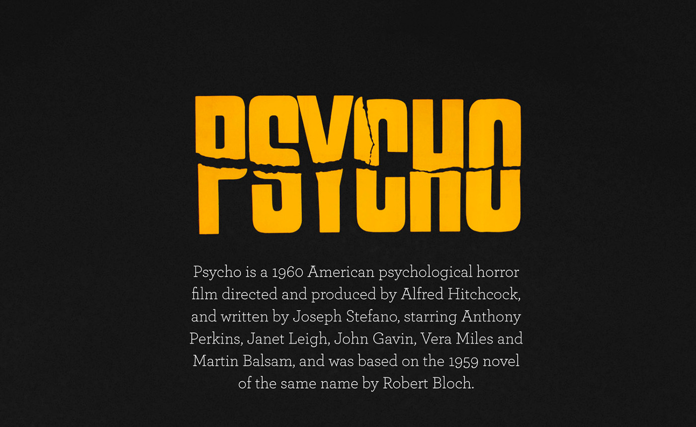 psycho Hitchcock psicosis movie Film   poster movie poster house cartel pelicula