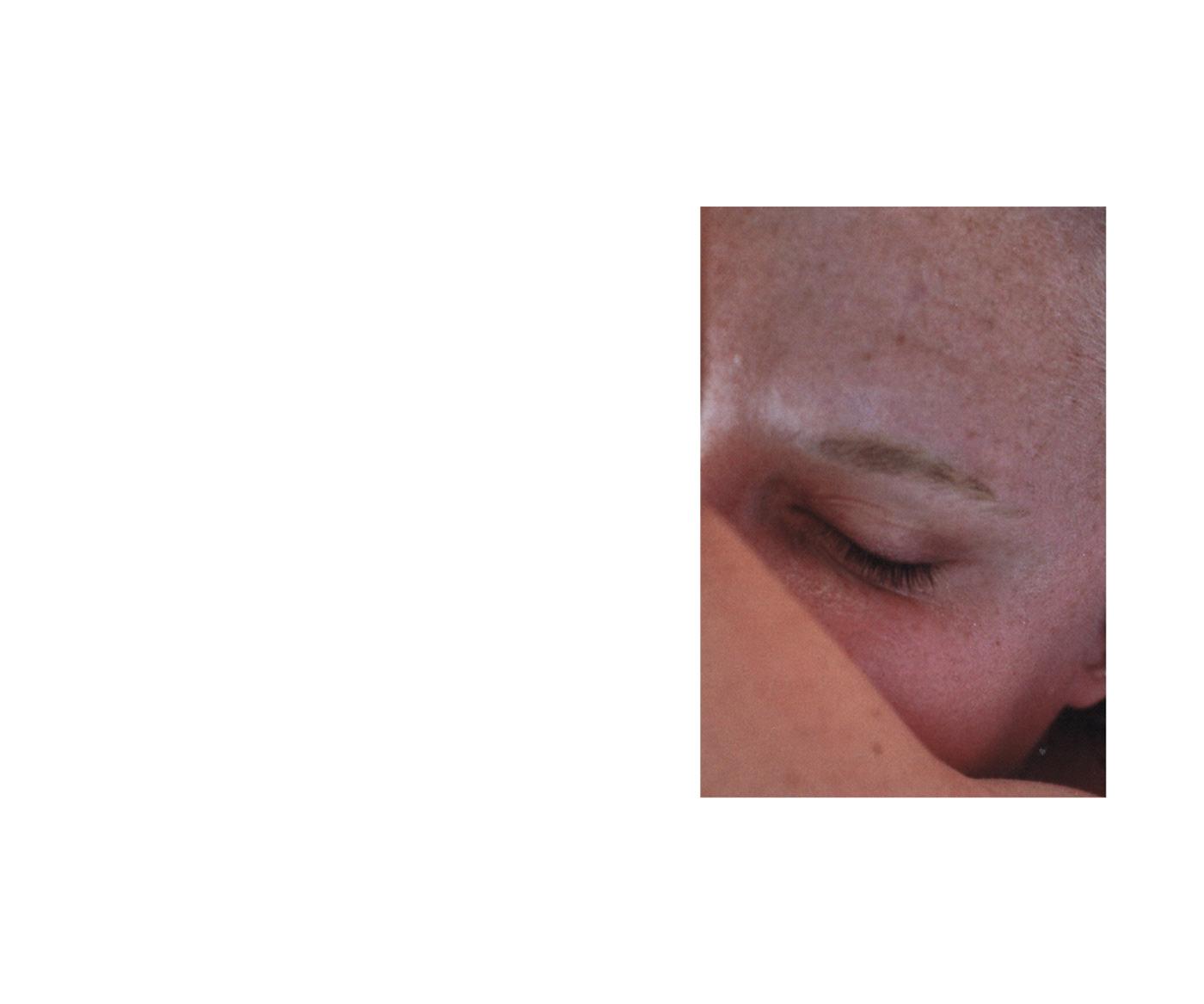 Image may contain: human face