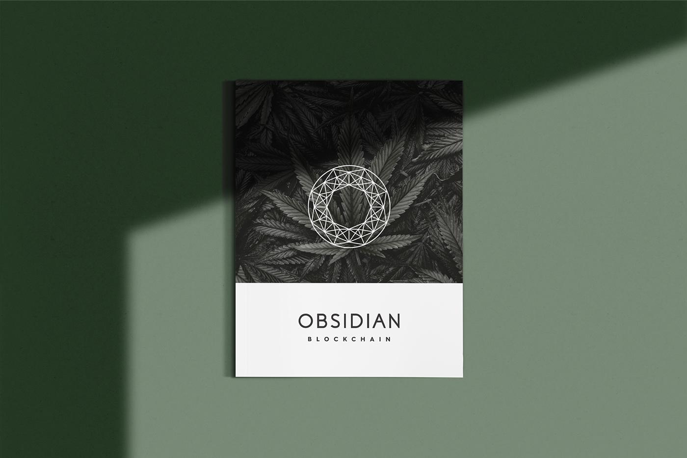 branding  cannabis CBD blockchain
