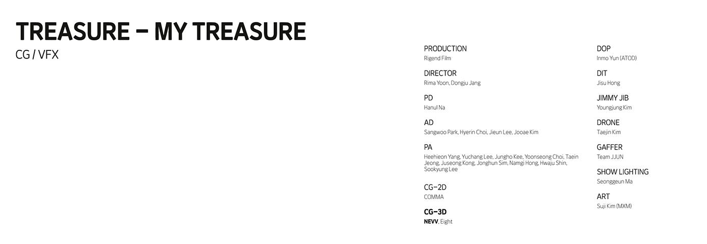 CG treasure vfx YG