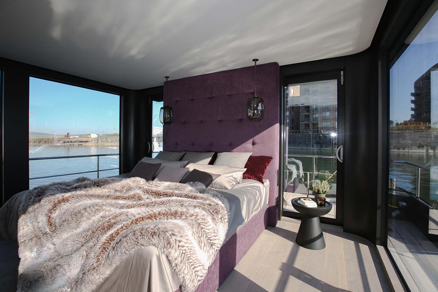 Schlafzimmereinrichtung Onyx Hausboot - Cruising Home Projekt by Nobla Karlsruhe