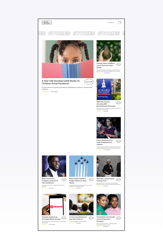 black design interaction news UI/UX Web Design  Interaction design  logo Platform user interface