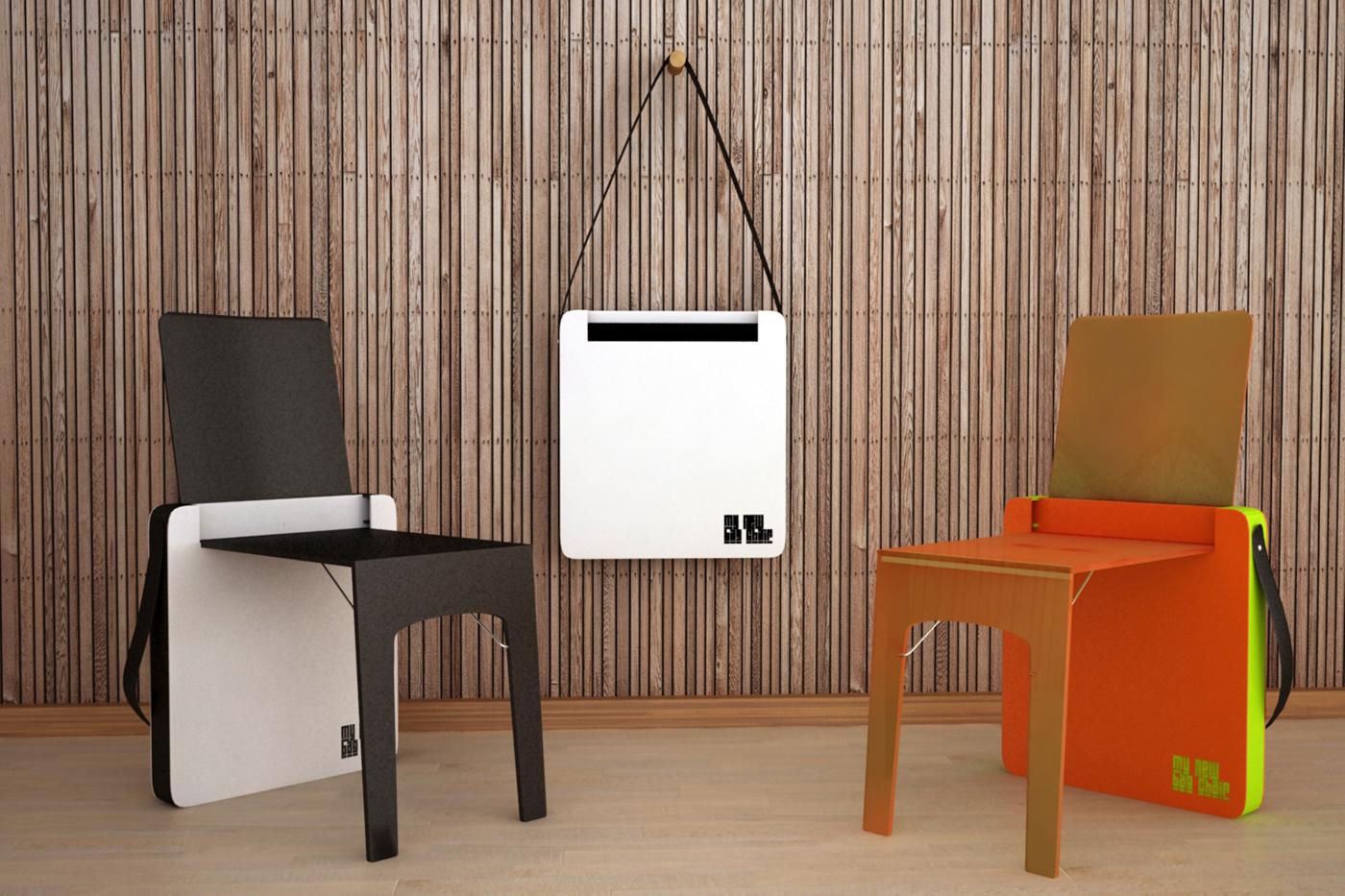 Bag Chair Folding Chair On Behance
