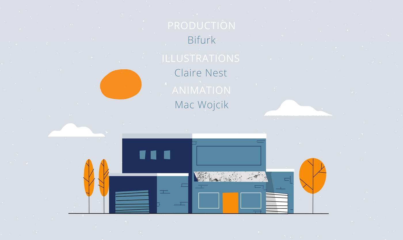 2D animation  design explainer gif graphics motion process video