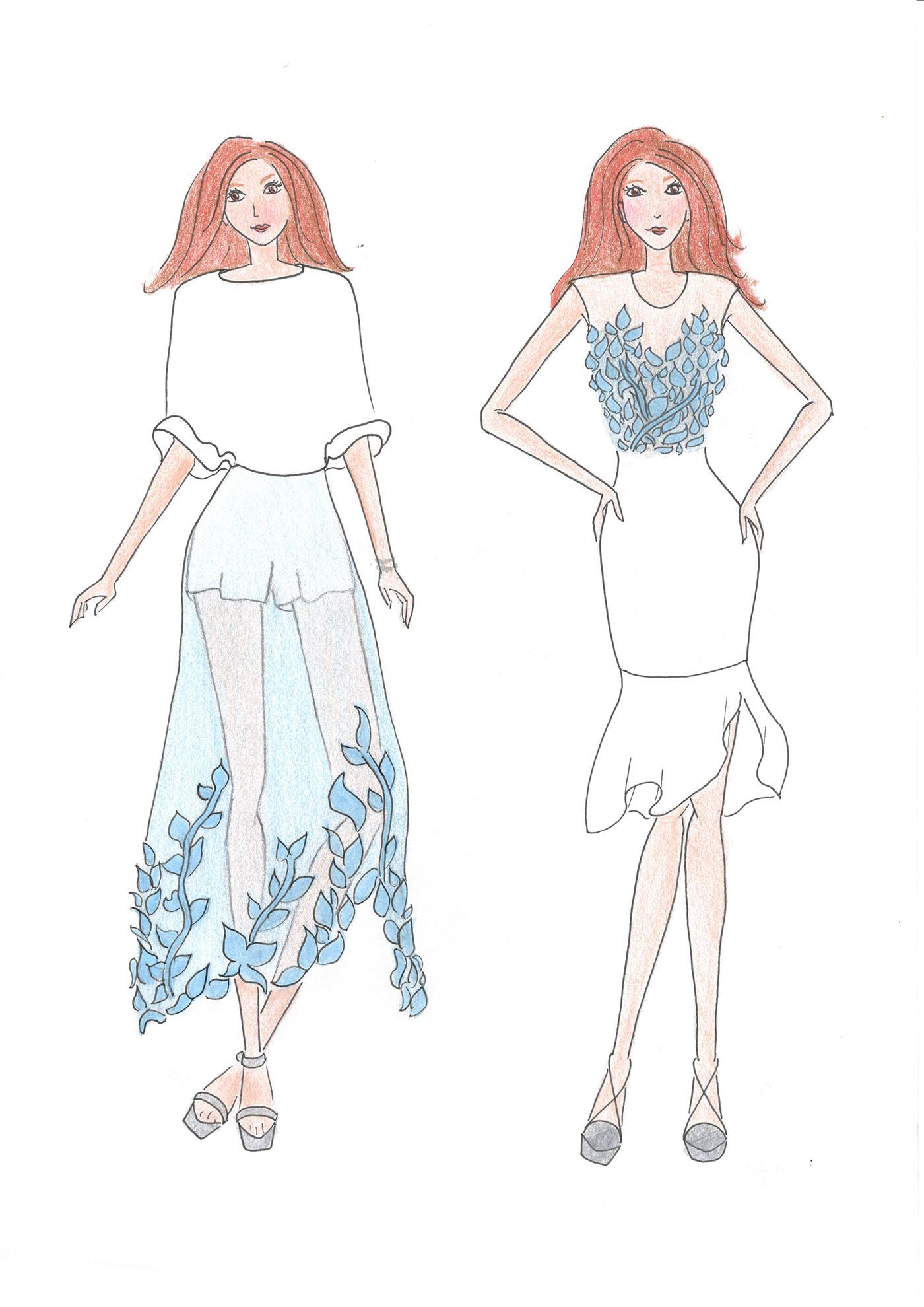 豐富的35張衣服設計圖欣賞