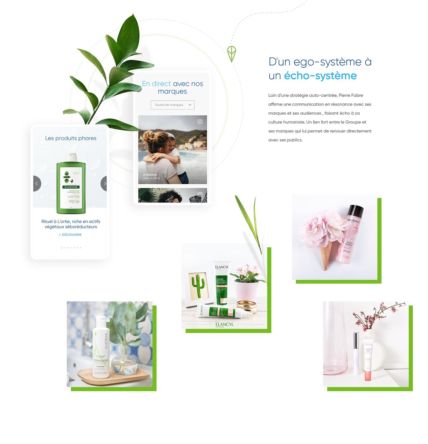 ux,Web,Responsive,design,santé,beauté,pharmaceutique,Laboratoire,Nature,cosmetique