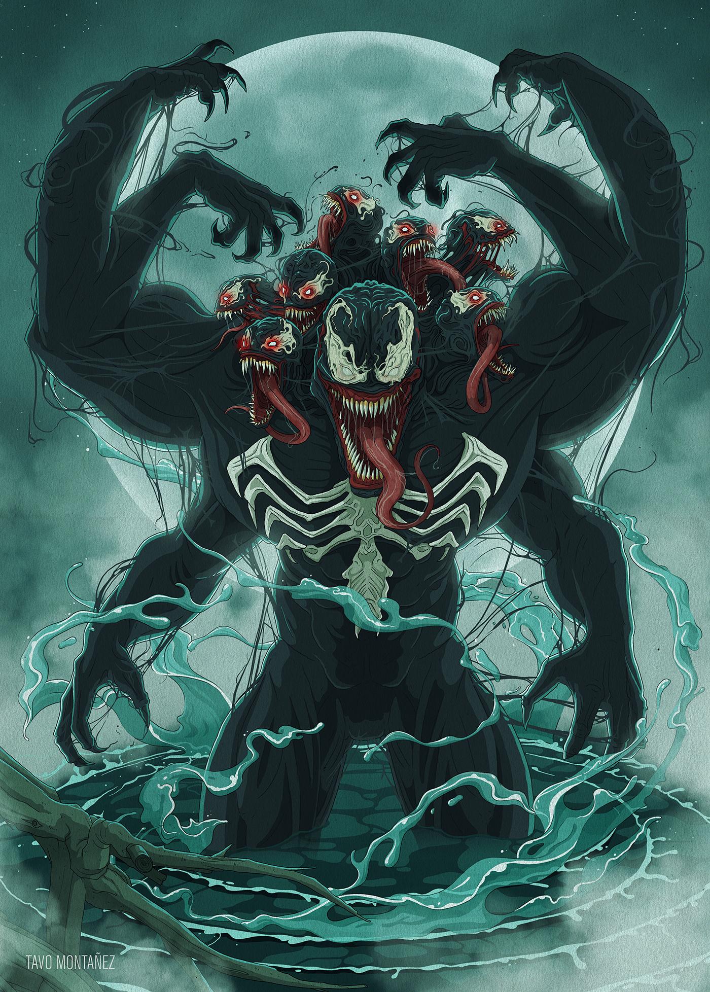 Venom: The Madness on Behance