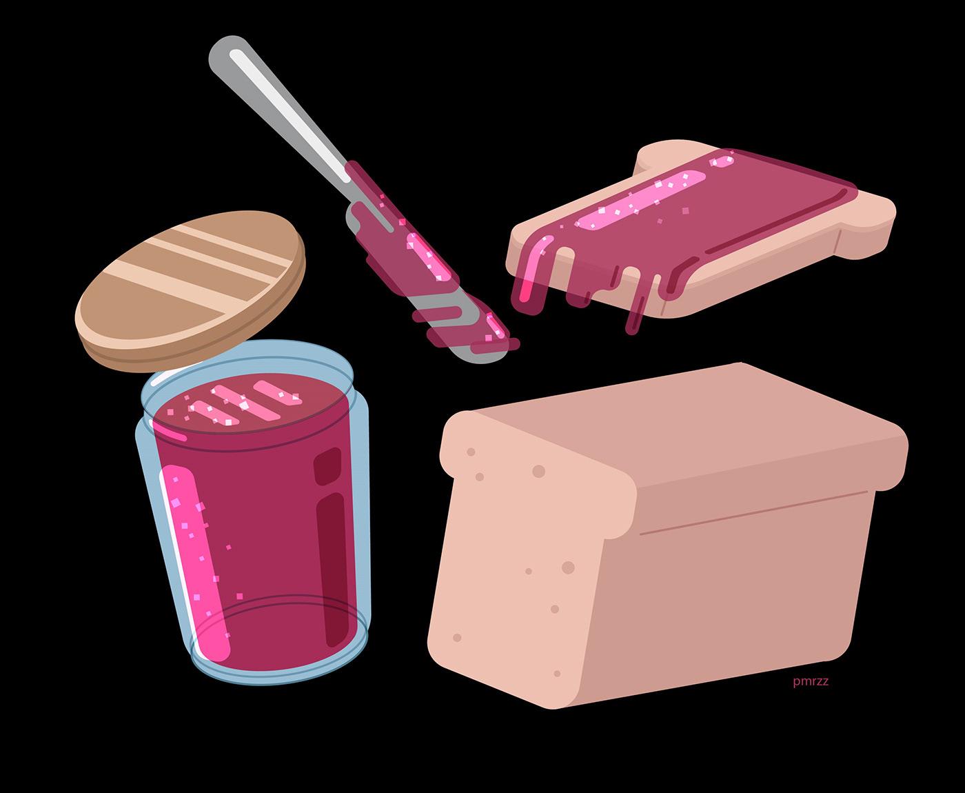 Image may contain: cartoon and pink