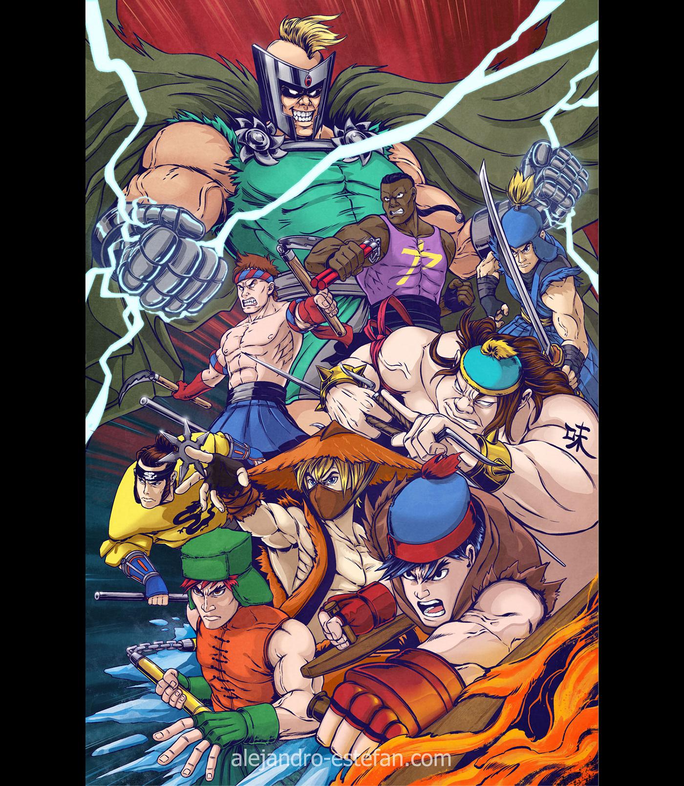 Image may contain: cartoon, comic and anime
